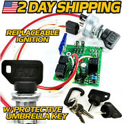 Am132500 Ignition Switch Module Replaces John Deere W/ Replaceable Switch And Keys