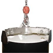 New Stainless Steel Universal Drum Lifter 1000 Lb. Cap.