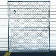 New Chain Link Galvanized Fence - 5and039wx6and039h 8 Panel Kit
