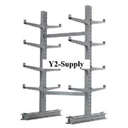 New Cantilever Rack Starter Unit Medium Duty-48 W X 54 D X 8and039hwith 2 Lip