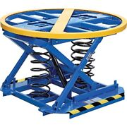 New Best Value Spring-actuated Pallet Carousel Skid Positioner