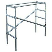 New Scaffolding Narrow Span 6-3/4and039h Upper Section 10and039l