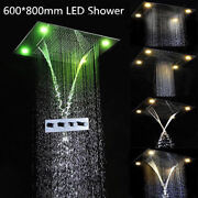 Shower Combo With 31x24shower Head And Thermostatic Valve Rainfall Waterfall