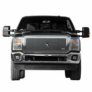 11-14 Ford Super Duty F250/350 Rbp Rx-5 Halo Series Chrome Studded Frame Grille.