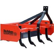 New 4and039 Box Blade Tractor Attachment Category 1 Pins Category 0 Spacing
