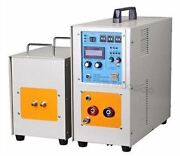 25kw 30-80khz Dual Station High Frequency Induction Heater Furnace Lh-25ab Ne Wn