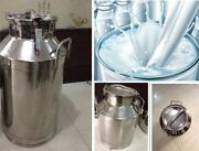 Stainless Steel 40l Milk Pail Brand New Good Quality Ai