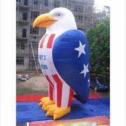 26ft Inflatable Eagle Patriotic Advertisement Decoration Promotion With Blowe Fn