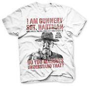 Officially Licensed Full Metal Jacket - Sgt. Hartman Menand039s T-shirt S-xxl Sizes