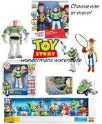 Toy Story Action Figures/playsets/toys/buzz Lightyear/woody - Brand New And Boxed