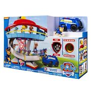 Paw Patrol Look-out Tower Playset With Slide Figure And Vehicle Boy Girl Kids