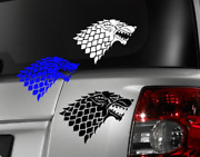 Game Of Thrones Direwolf Decal Vinyl Car Window Sticker Any Size Free Shipping