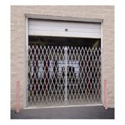 New Illinois Engineered Products Double Folding Gate 16'w To 18'w And 7'6h
