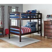 Better Homes And Gardens Leighton Twin Over Twin Wood Bunk Bed Multiple Finishe