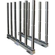 New Abaco Rhino Slab Rack With Rubber Lined Poles 118l X 7w X 50 30k Cap