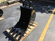 New 24 Heavy Duty Excavator Bucket For A Case Cx80 W/ Coupler Pins