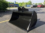 New 48 Ditch Cleaning Bucket For A Case Cx75 W/ Coupler Pins