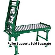 3' Oal-spring Assist Gate Section Galvanized Steel Roller Conveyor-1.9-36 Bf