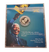 South Africa 5 Rand 2000. Nelson Mandela. Nickel-plated Copper. Prooflike