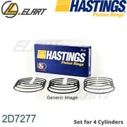 Piston Ring For Opel Combo Estate Z 1.3l Peugeot 407 Sw 6e 4ht Dw12bted4 2.2l