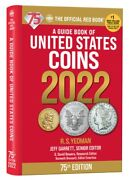 New 2022 Red Book Guide Of United States Coin Us Price List Hidden Spiral 75th