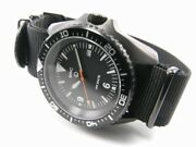 Mwc 1000ft Wr 12 Hour Dial Military Divers Watch In Pvd Steel Case Automatic