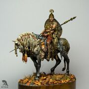Mounted Celt With War Trophies Tin Painted Toy Soldier Pre-sale | Museum