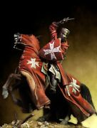 Brother Knight Of Saint John Tin Painted Toy Soldier Pre-sale | Museum Quality