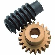 Modelcraft Brass Gear And Steel Worm Drive Set 160 5mm And 4mm Bores