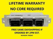 09-12 Ford / Lincoln Ecm Be9a-12a650-be Lifetime Warranty 20 Core Refund