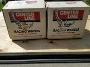 Nos Vintage 1990s Center Line Wheels 15andtimes13.5 Pro Street Hot Rod Drag Racing