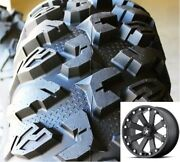 4 Efx 27-10-14 Moto-claw Atv/utv Tire Motoclaw 8 Ply Radial Dot And Msa Rims