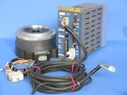 Nsk Ys2020fn001 Servo Motor W/ Nsk Es2020a23-03 Controller And Cables, Matched Set
