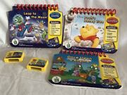 My First Leappad Learning System 3 Preschool Books And 2 Game Replacements Only