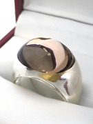 Authentic Baccarat Crystal Ring France Half Price