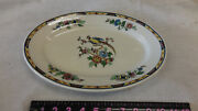 Vintage Pottery The Wellsville Sterling China Platter Ohio