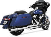 Vance And Hines Pro Pipe Two Into One Harley Flh Flt 2017-2018 Chrome