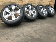 Jeep Grand Cherokee Srt 20 Inch Genuine Wheels And Runflat Tyres Near New