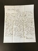 John S. Mosby Aka Grey Ghost Historical Documents And Letters