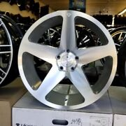 20 Inch Staggered Blaque Diamond Bd-15 Wheels And Tires Fit Maserati Bmw Mbz Kia