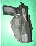Front Line Kng06p-bk Rh Kydex Nylon Paddle Holster Lined Fn Browning Hipower