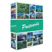 Small Postcard Album 50 Pages 2 Pockets 200 Postcards Photo Capacity Lighthouse