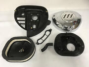 Used Indian Motorcycle Chrome 111 Airbox Cover And Parts From 2017 Roadmaster