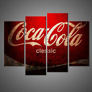 Coca Cola Vintage Design Canvas Print Picture Wall Art Home Decor Free Delivery