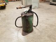 Lot Of 2 Antique Oil And Grease Pumps Ie- Pump Gas