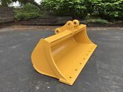 New 48 Ditch Cleaning Bucket For A Caterpillar 303.5e With Pins