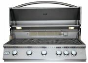 Rcs Gas Grills 40 Premier Grill With Blue Led And Rear Burner - Lp