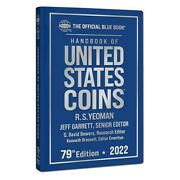 New 2022 Official Blue Book Guide Us United States Coins Price List Hardcover