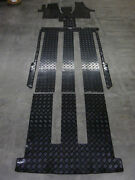 Rubber Car Mats Fitted For Vw T5 Multivan Bus + Complete Set + From Bavaria