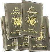 Penny Passport Souvenir Elongated Penny Collection Book 5 Albums Deal New Gift